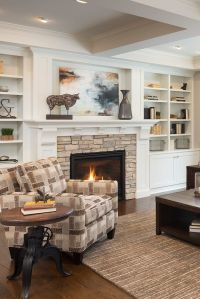 1000+ ideas about White Stone Fireplaces on Pinterest ...