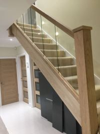 60 best images about stairs on Pinterest | Wood handrail ...