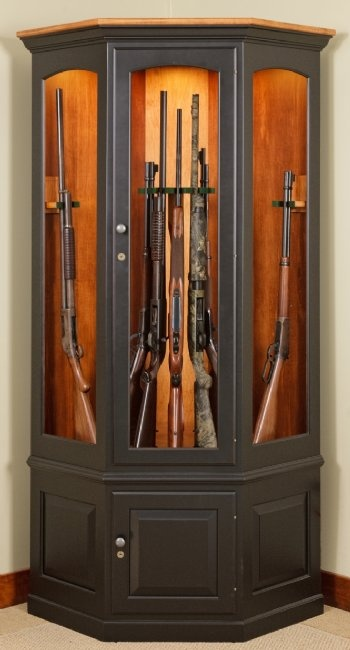 rocking chair fine woodworking desk lowes 25+ best ideas about gun cabinets on pinterest | storage, safe diy and safes