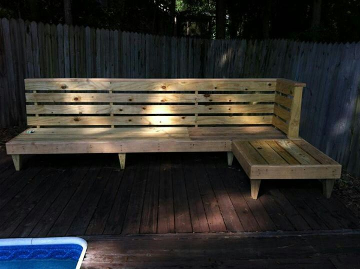 oversized patio chair cushions ultra comfort lift diy outdoor bench & seating | pinterest benches, backyards and plants