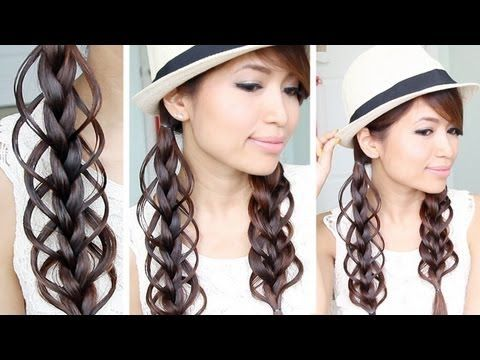 1293 Best Images About Hair Styles On Pinterest 5 Strand Braids