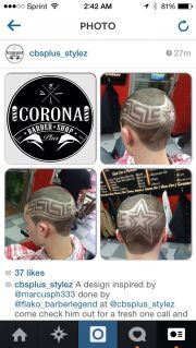 haircuts design & braids