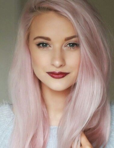 pastel pink hair color hair colour pinterest pastel my hair and pastel pink hair