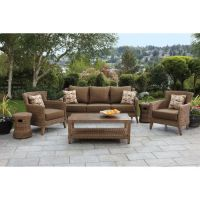 Seagrass 6-piece Woven Seating Set from Studio by Brown ...