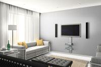 12 TV Wall Mount Ideas For Lovely Modern Living Room : TV ...