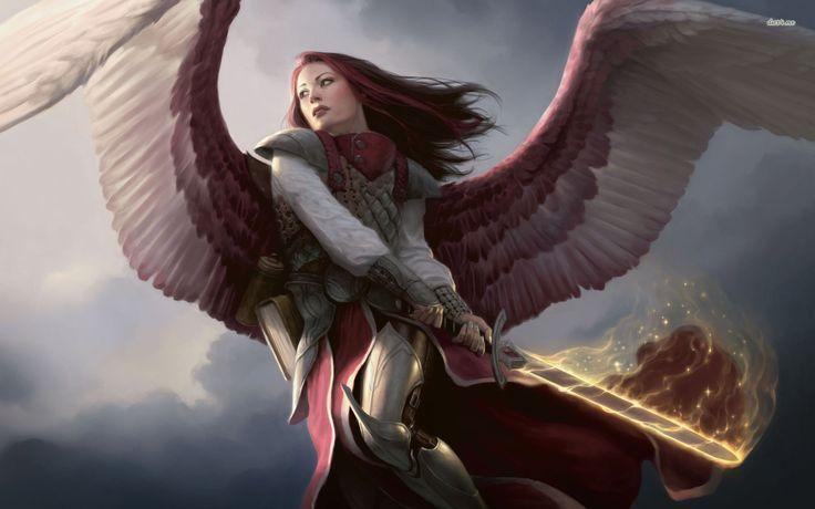 Guardian Angel Hd Wallpapers Angel Magic The Gathering Concept Art Pinterest