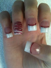 25+ best ideas about White Tip Nails on Pinterest | French ...