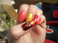 14 best images about Nail Art: Thanksgiving on Pinterest ...