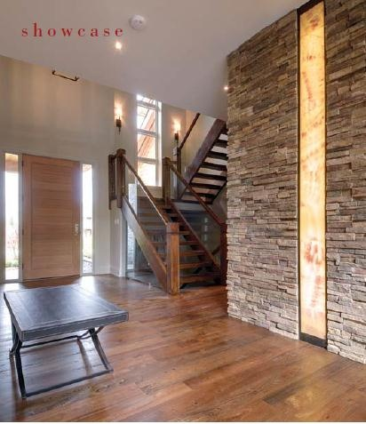 Interiors Design Architecture Stone Wall With Back Lit Onyx As A Feature Wwwourhomesmagazine