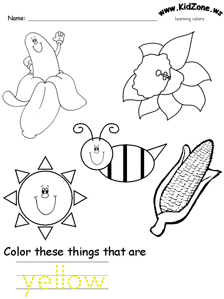 25+ best ideas about Preschool coloring pages on Pinterest