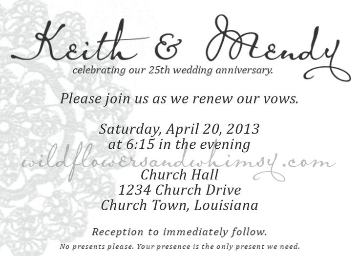 1000+ ideas about Wedding Renewal Invitations on Pinterest