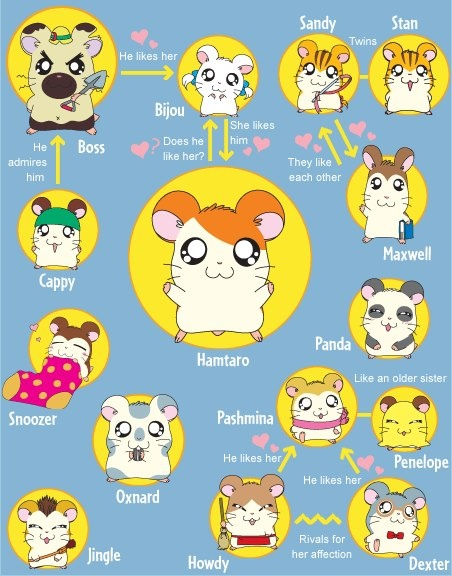 I Loved Hamtaro So Much That My Guinea Pigs Name Was