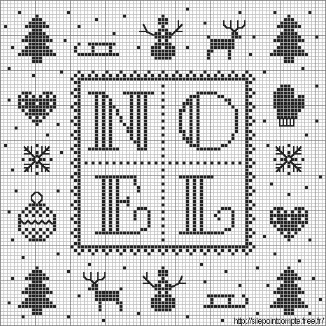 70 best images about Free Christmas Cross Stitch Patterns
