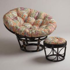 Big Round Chairs Baby Doll High Venice Papasan Chair Cushion | Crafts, And The O'jays
