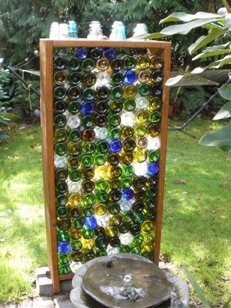 25 Best Ideas About Bottle Wall On Pinterest Wine Bottle Wall