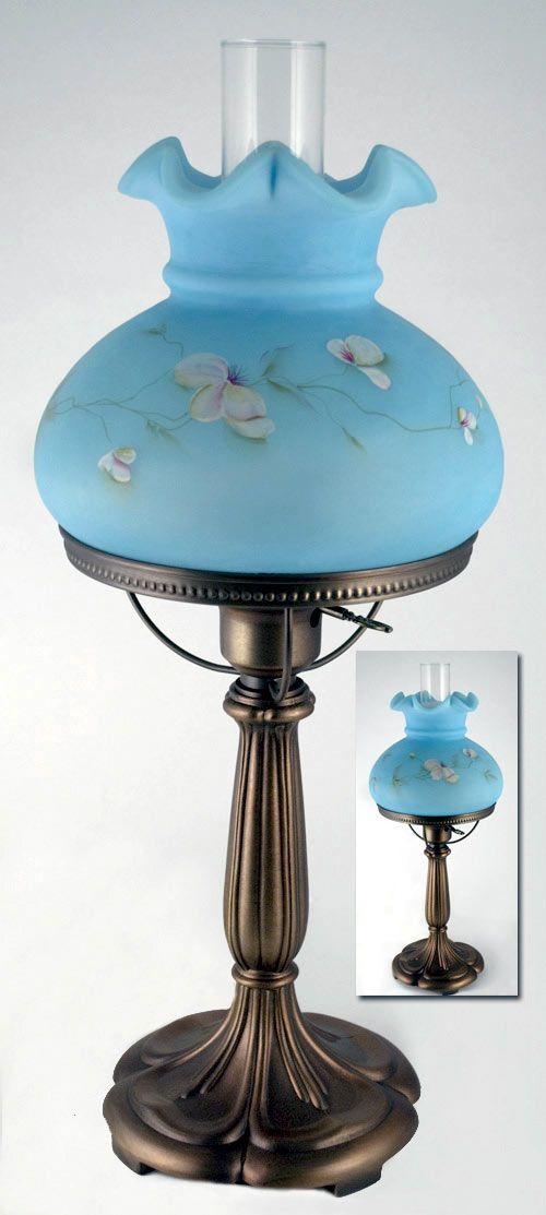 17 Best images about Vintage Fenton Lamp on Pinterest