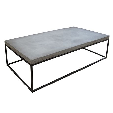 1000+ ideas about Concrete Coffee Table on Pinterest