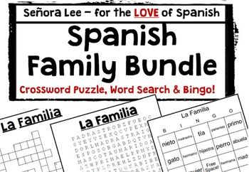 1000+ images about Spanish 1 Familia / Family on Pinterest