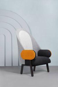Collectible Design 'Moon' Armchair, a Contemporary Piece ...