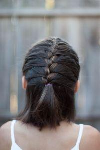 French Braid   CGH Lifestyle   Short hairstyles ...