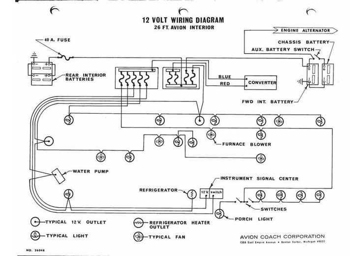 8n Ford Starter Solenoid Diagram Image Result For Avion Trailer Wiring Diagram 196x