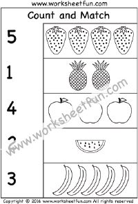 Numbers, Number one and Worksheets on Pinterest