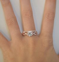 Best 25+ Twist engagement rings ideas on Pinterest