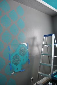 Best 25+ Wall stencils for painting ideas on Pinterest