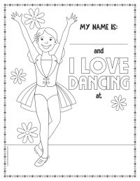 Get FREE Printable Dance Coloring Pages! | Coloring Pages ...