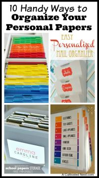 25+ best ideas about Filing cabinet organization on ...