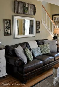Brown Leather Couch Decorating Ideas | www.imgkid.com ...