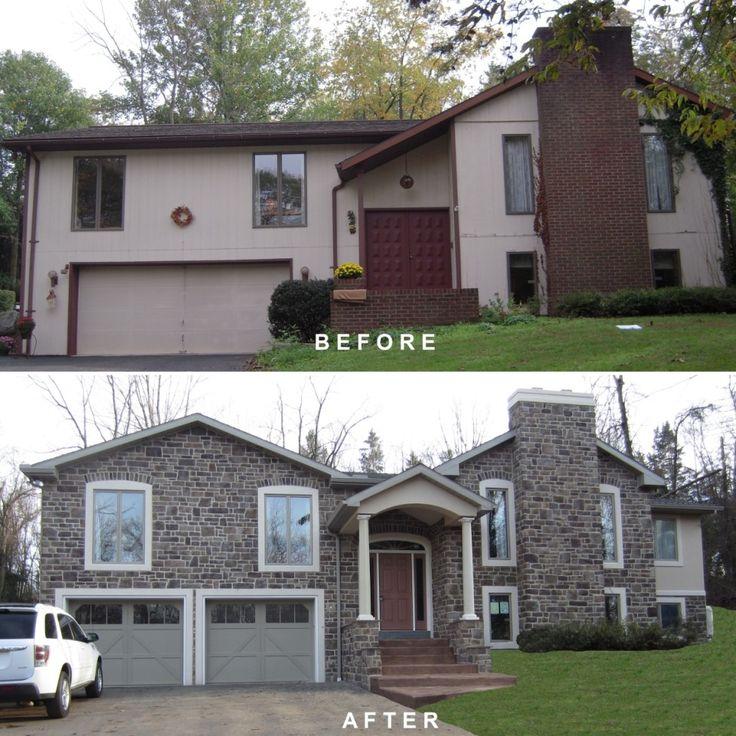 Bi Level Exterior Remodeling Bi Level Exterior Make Over