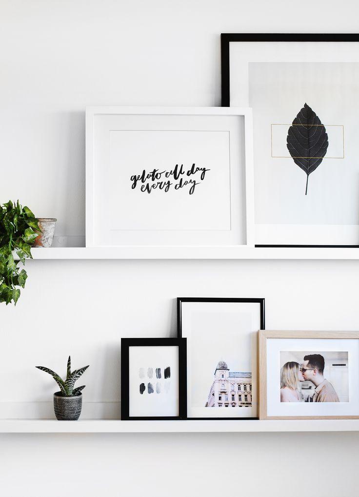 Best 20+ Gallery Wall Shelves ideas on Pinterest