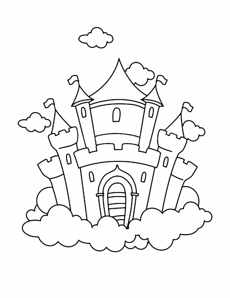 Printable mansion for Preschool Starlight Crafts day 5