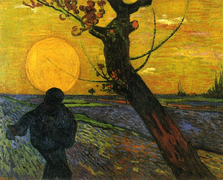 Sower with Setting Sun – Vincent van Gogh