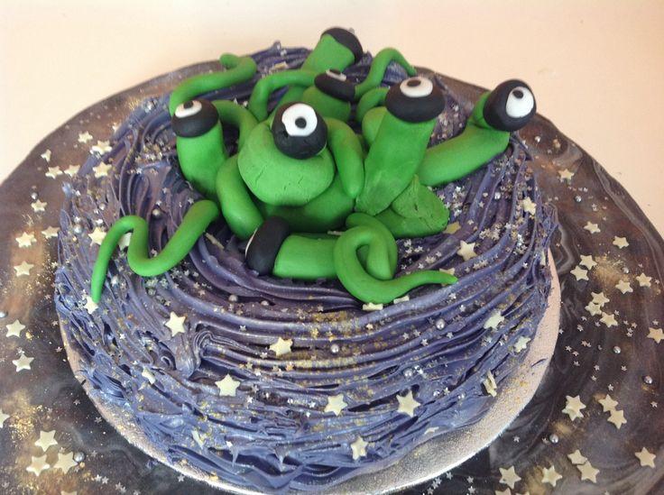 Alien Black Hole Cake Recipes Pinterest Cakes