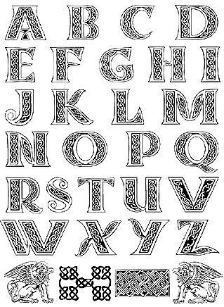 17 Best ideas about Alphabet Letters Design on Pinterest