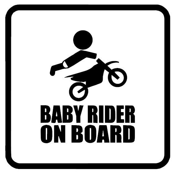 BABY RIDER ON BOARD Decal for you Car, Truck, SUV, Van