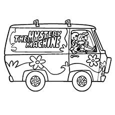 Top 30 Free Printable Scooby Doo Coloring Pages Online