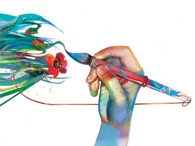 Artistic Cover for Fine Art PPT Backgrounds  Art  Design  Pinterest