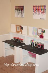 25+ best ideas about Kid desk on Pinterest   Kids desk ...