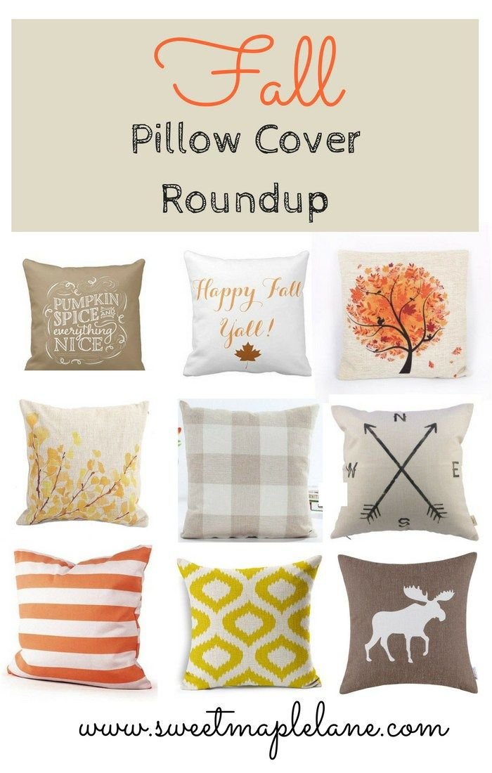 25 best ideas about Fall pillows on Pinterest  Autumn