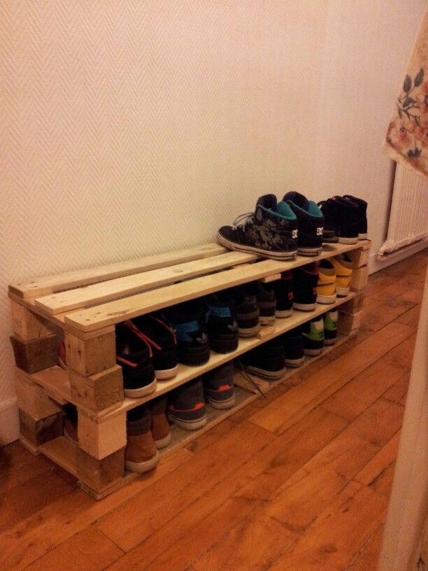 Tagre Chaussures En Palettes Palettes Pinterest