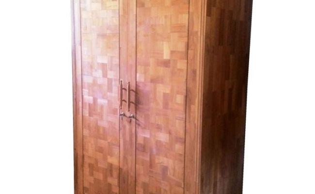 Almari Pakaian Minimalis Laminasi Pintu 2 Furniture