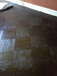 Minwax Espresso stain on parquet floor | Homework ...