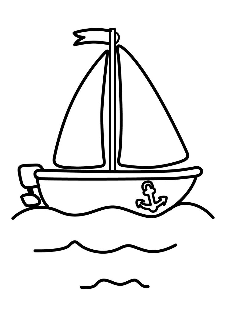 21 Printable Boat Coloring Pages Free Download http