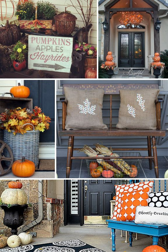 25 Best Ideas About Fall Front Porches On Pinterest Front Porch
