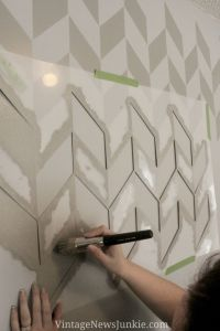 25+ best ideas about Herringbone Wall on Pinterest