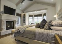 Bedroom. Master Bedroom with cathedral ceiling and ...