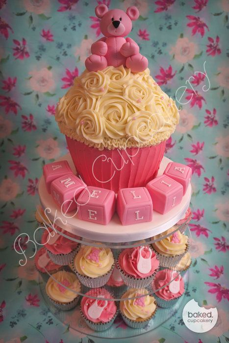 Best 20 Giant Cupcake Cakes ideas on Pinterest  Giant cupcakes Cupcake decorating supplies